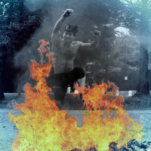 Obstaculo Fuego en Cross Challenge