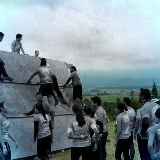 Muro en equipo Cross Challenge