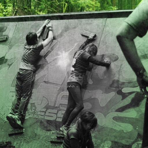 Traverse wall cross challenge