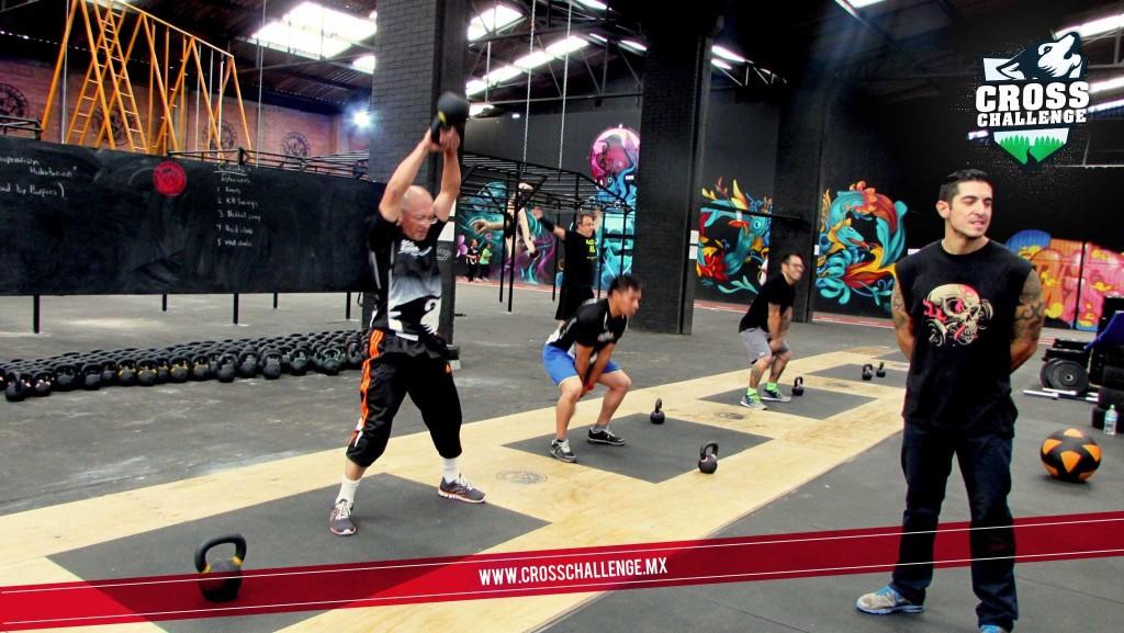 Entrenamiento Corsschallenge y Zona Fitness