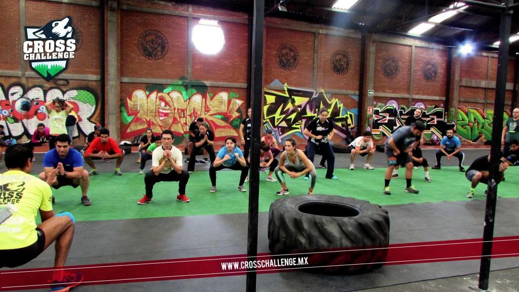 Entrenamiento Zona Fitness Y cross challenge